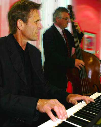 Pittsburgh Jazz Dance Band Catro Piano and Upright Bass